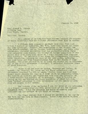 1946/01/24: Roy Nordine to Jean Cudahy