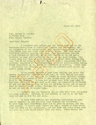 1945/03/16: Clarence Godshalk to Jean Cudahy
