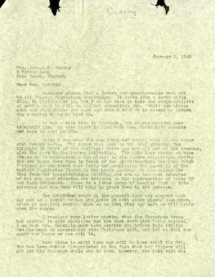 1946/01/02: Clarence Godshalk to Jean Cudahy