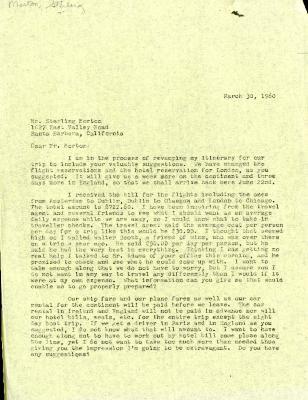 1960/03/30: C. E. Godshalk to Sterling Morton