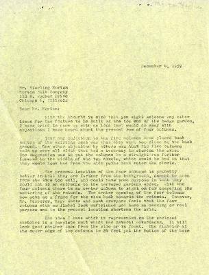 1959/12/04: C. E. Godshalk to Sterling Morton
