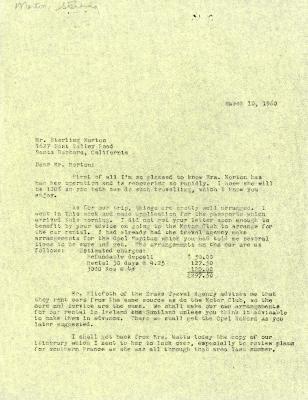 1960/03/10: C. E. Godshalk to Sterling Morton
