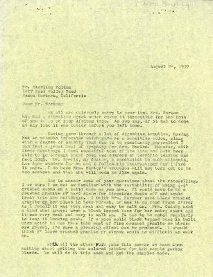 1959/08/24: C. E. Godshalk to Sterling Morton