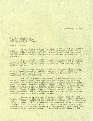 1960/02/23: C. E. Godshalk to Sterling Morton