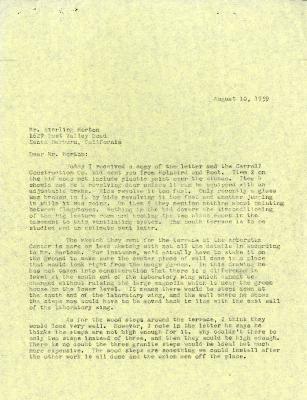 1959/08/10: C. E. Godshalk to Sterling Morton