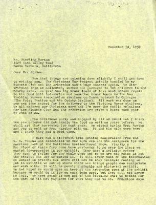 1959/12/30: C. E. Godshalk to Sterling Morton