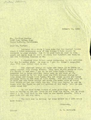 1960/01/13: C. E. Godshalk to Sterling Morton