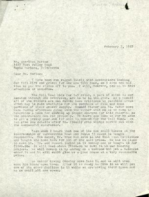 1957/02/07: C. E. Godshalk to Sterling Morton