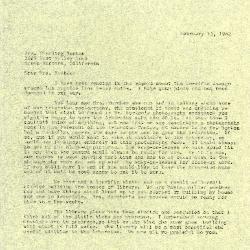 1962/02/13: C. E. Godshalk to Mrs. Sterling Morton