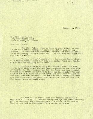 1961/01/06: C. E. Godshalk to Sterling Morton
