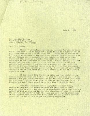 1960/07/08: C. E. Godshalk to Sterling Morton