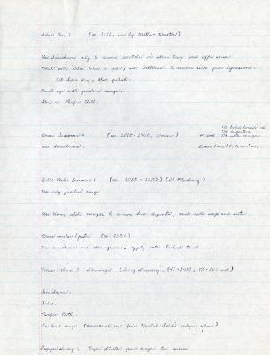[1981/10/06]: Instructions for Care of Silver and Samovars