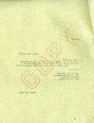 1952/04/10: C. E. Godshalk to Edward H. Baker, Jr.