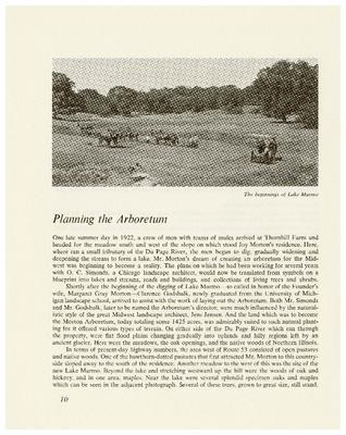 Planning the Arboretum