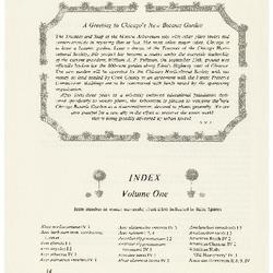 Index Volume One