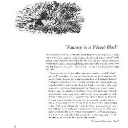 """Fantasy in a Wood-Block"""
