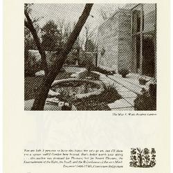 The May T. Watts Reading Garden