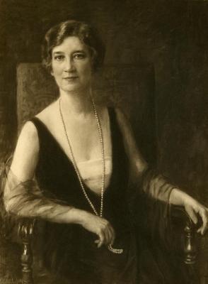Margaret Gray Morton, photograph of painted portrait