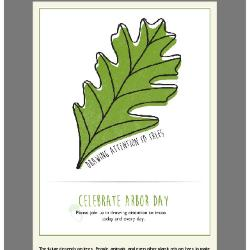 Community Trees Program, Arbor Day E-Card