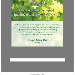 ArbNet Arbor Day E-Card