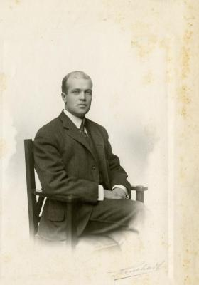 Frederick Lake, brother of Carrie Lake Morton