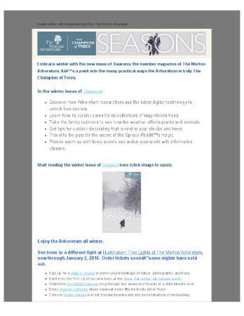 General Marketing Emails, December 2015