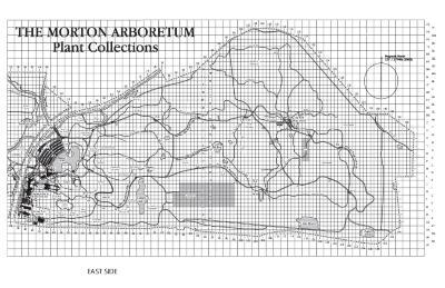 The Morton Arboretum Plant Collections Grid Map