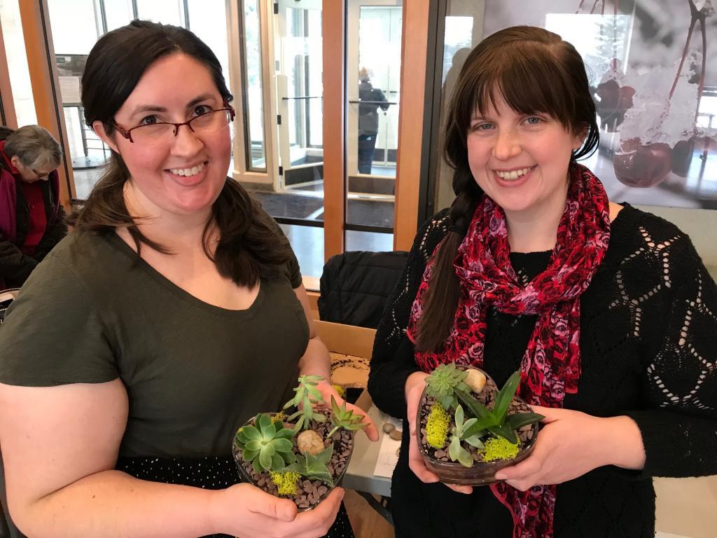 Adult Education, Gardening and Horticulture, Winter Arrangement: Succulents