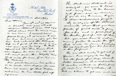 1921/03/03: Joy Morton to Sterling Morton