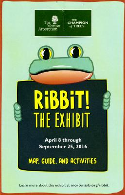 Ribbit! The Exhibit Map, Guide and Activities