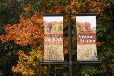 Big Rock Visitor Station Sign