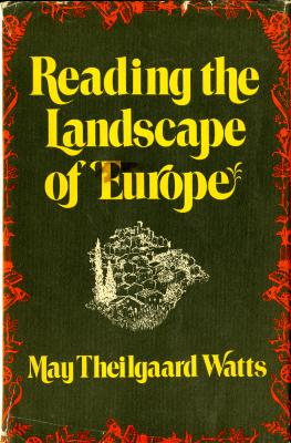 Reading the Landscape of Europe Book Cover