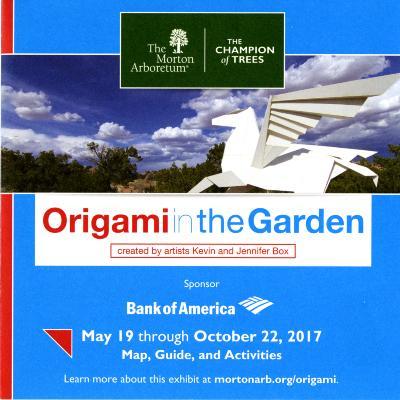 Origami in the Garden Brochure