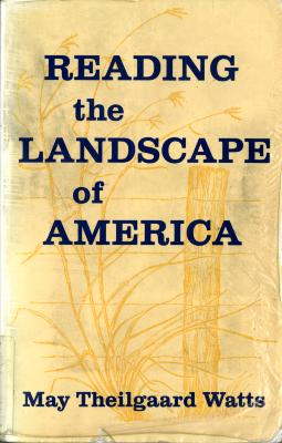 Reading the Landscape of America Book Cover