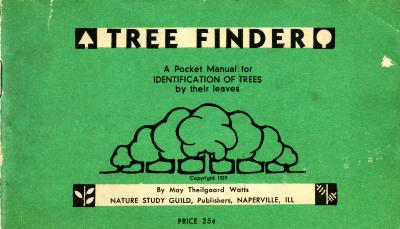 Tree Finder: A Pocket Manual for Identification of Trees By Their Leaves