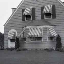 Propagator's house at South Farm, front exterior view