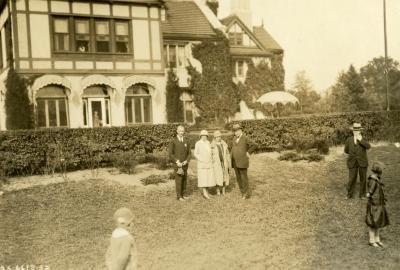Joy Morton's 70th Birthday: Joe Cudahy, Jean Cudahy, Mrs. King and Joy Morton