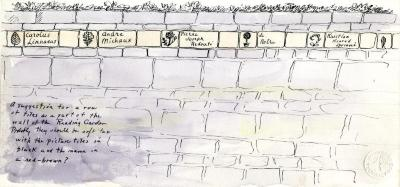 Suggestion for The Morton Arboretum, Sterling Morton Library Reading Garden wall