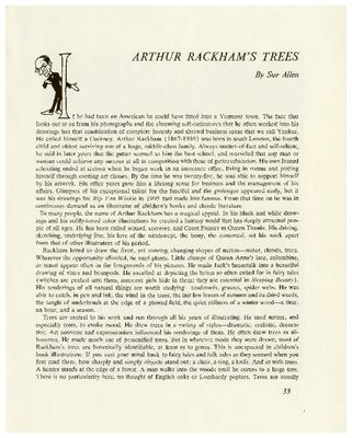 Arthur Rackham's Trees
