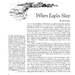 Where Eagles Sleep