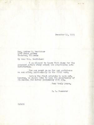 1935/12/13: E. L. Kammerer to Mrs. Arthur H. Boettcher