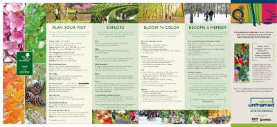 The Morton Arboretum Map and Guide [2011]