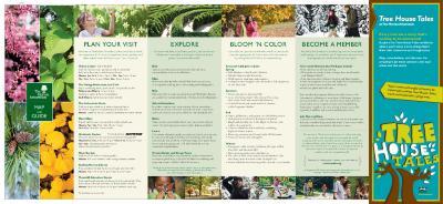 The Morton Arboretum Map and Guide [2012]