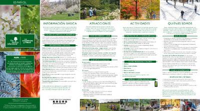 The Morton Arboretum Mapa y Guía [2018]