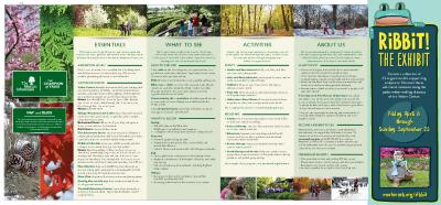 The Morton Arboretum Map and Guide [2016]