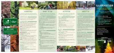 The Morton Arboretum Map and Guide [2015]