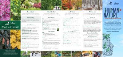 The Morton Arboretum Map and Guide [2021]