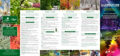 The Morton Arboretum Map and Guide [2019]