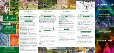 The Morton Arboretum Map and Guide [2017]