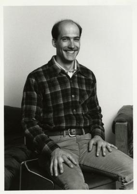 George Shabel, seated portrait